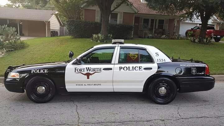 Fort worth police cruiser