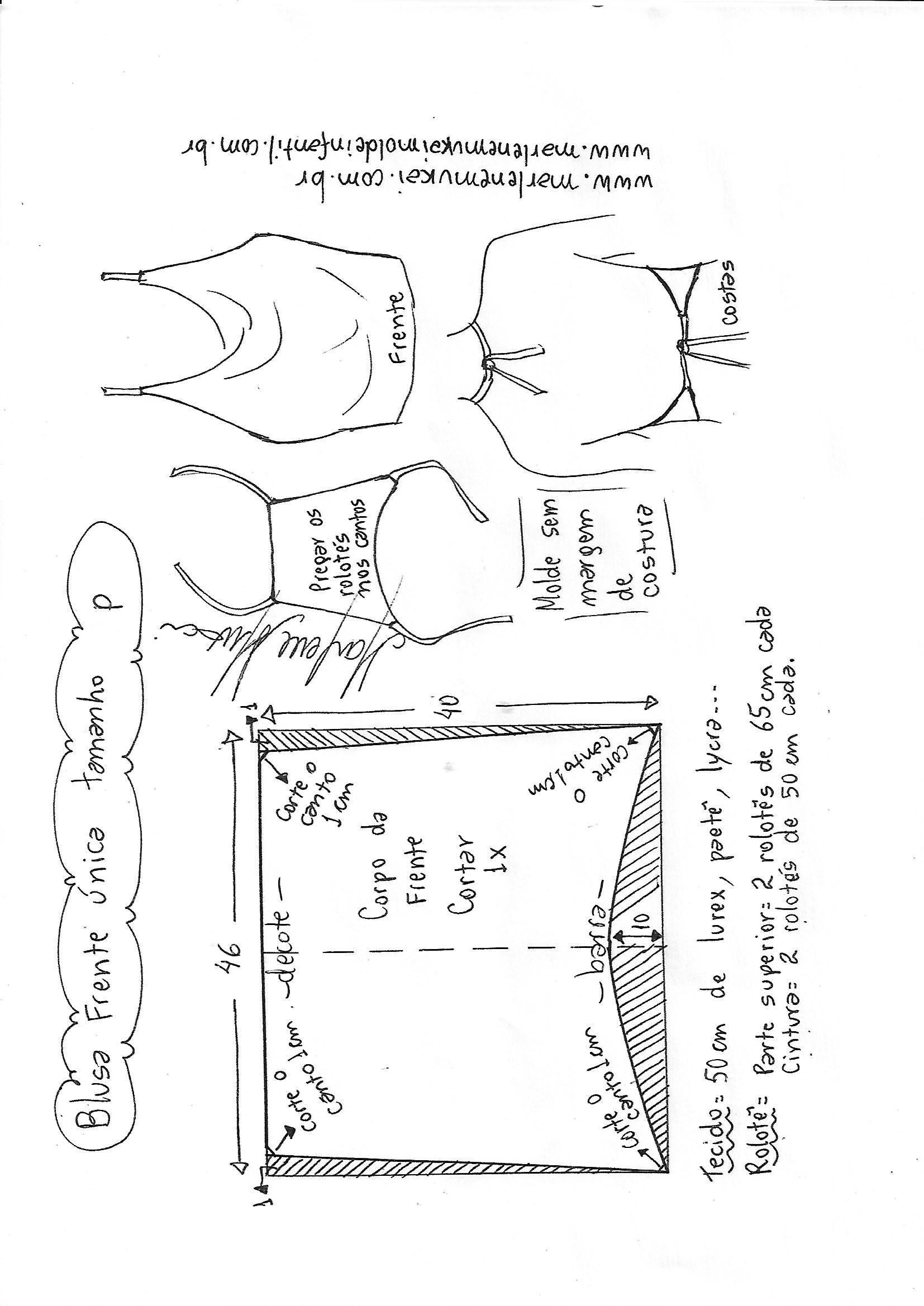 Pin de Elma lucía en Patrones de costura | Pinterest | Molde ...