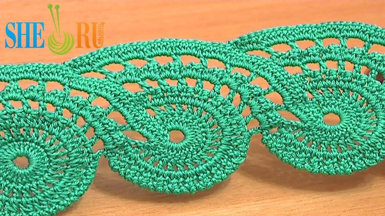 Lace crochet free pattern tutorial 9 part 2 of 2 crochet lace tape lace crochet free pattern tutorial 9 part 2 of 2 crochet lace tape bankloansurffo Gallery