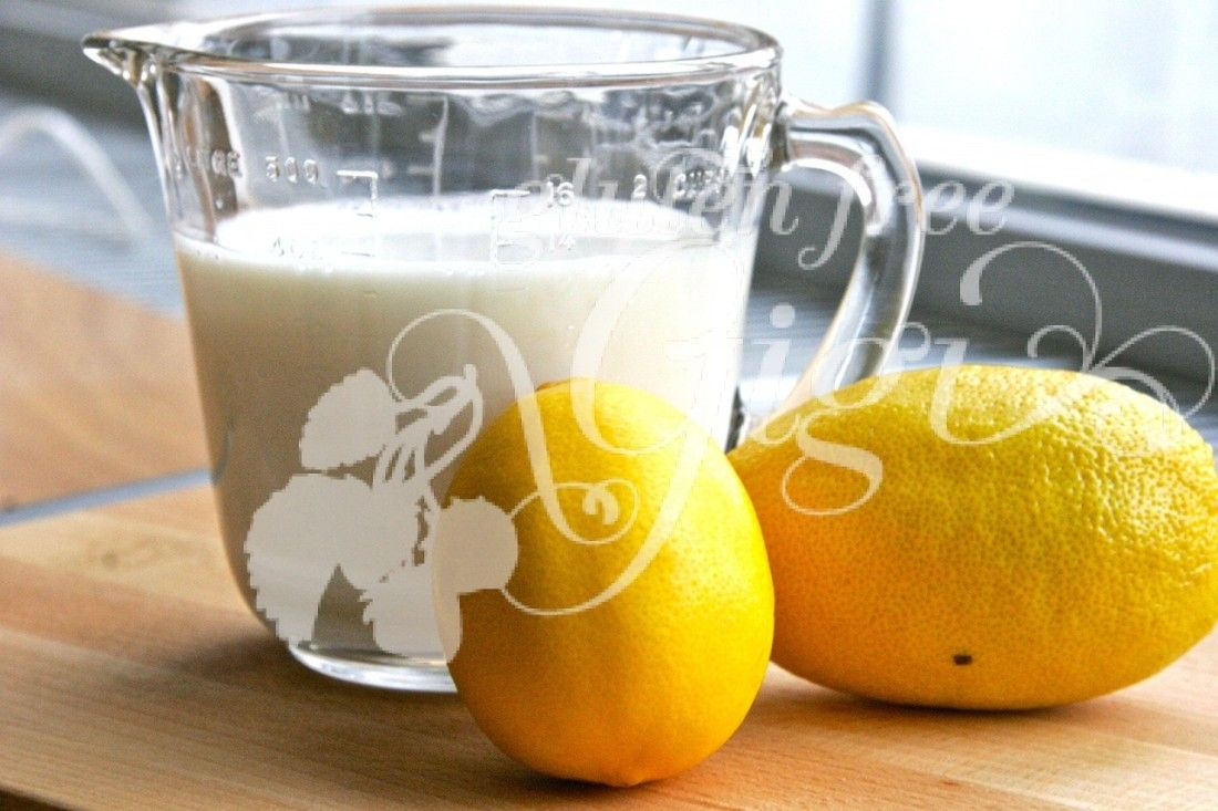 Dairy free buttermilk substitute for baking buttermilk