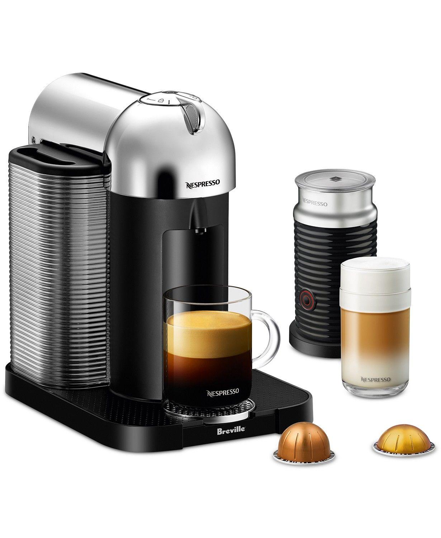 Nespresso By Breville Vertuoline Coffee Espresso Machine With Aeroccino Reviews Coffee Tea Espresso Nespresso Coffee And Espresso Maker Milk Frother