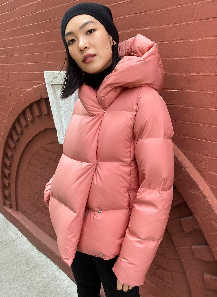 The Duvet Puffer Short Fashion Puffer Jacket Style Puffer [ 1147 x 840 Pixel ]