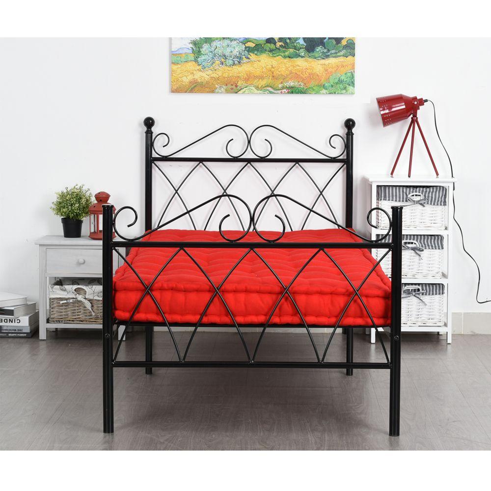 Aingoo 3ft Single Metal Bed Frame Solid Bedstead Base for Kids ...