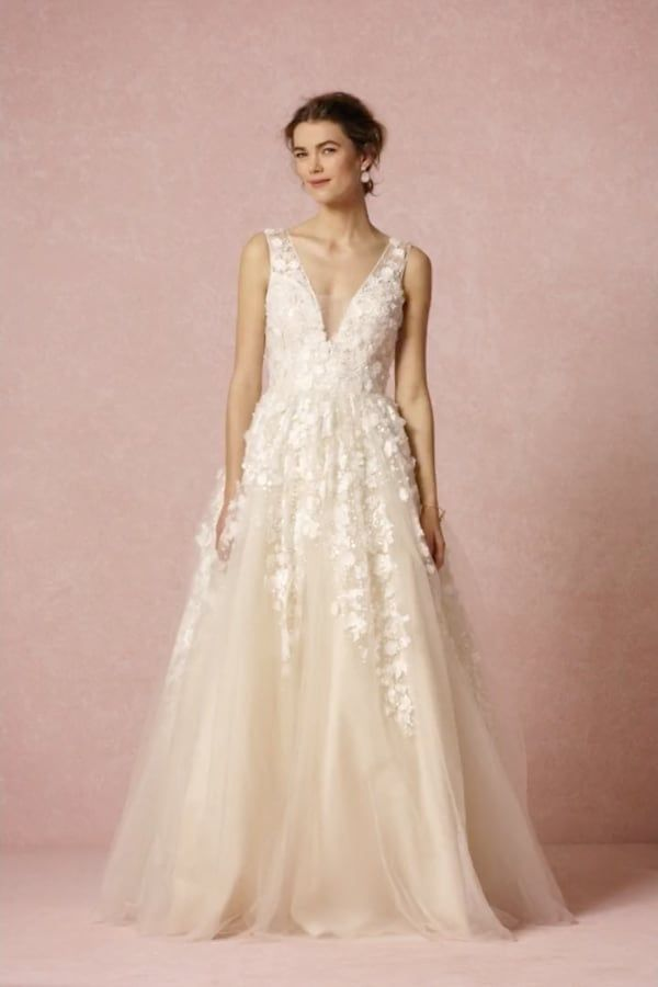 Bhldn Ariane Used Wedding Dress Save 55 Anthropologie Wedding Dress Bhldn Wedding Dress Enchanted Forest Wedding Dress