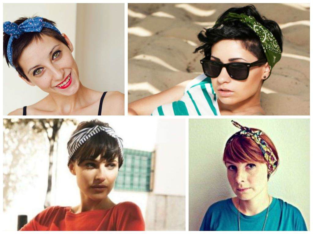 Great Looking Headbands For Short Hair Hair World Magazine Short Hair Styles Pixie Headbands For Short Hair Short Hair Styles