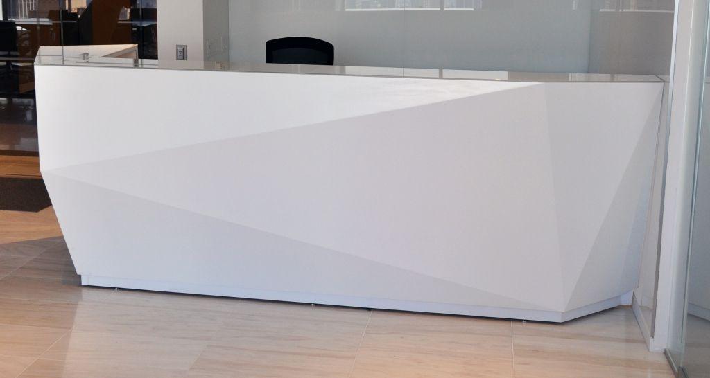 Glas top Rezeption home office Schreibtisch Möbel Überprüfen Sie ...