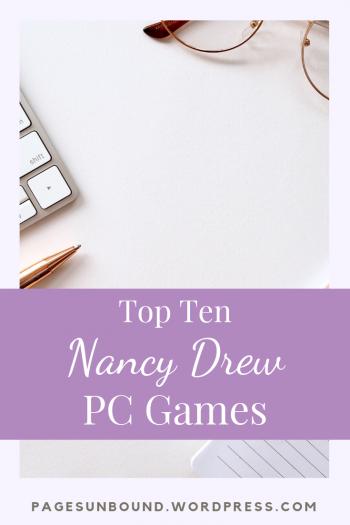 Top Ten Nancy Drew PC Games Nancy drew, Gaming pc, Book