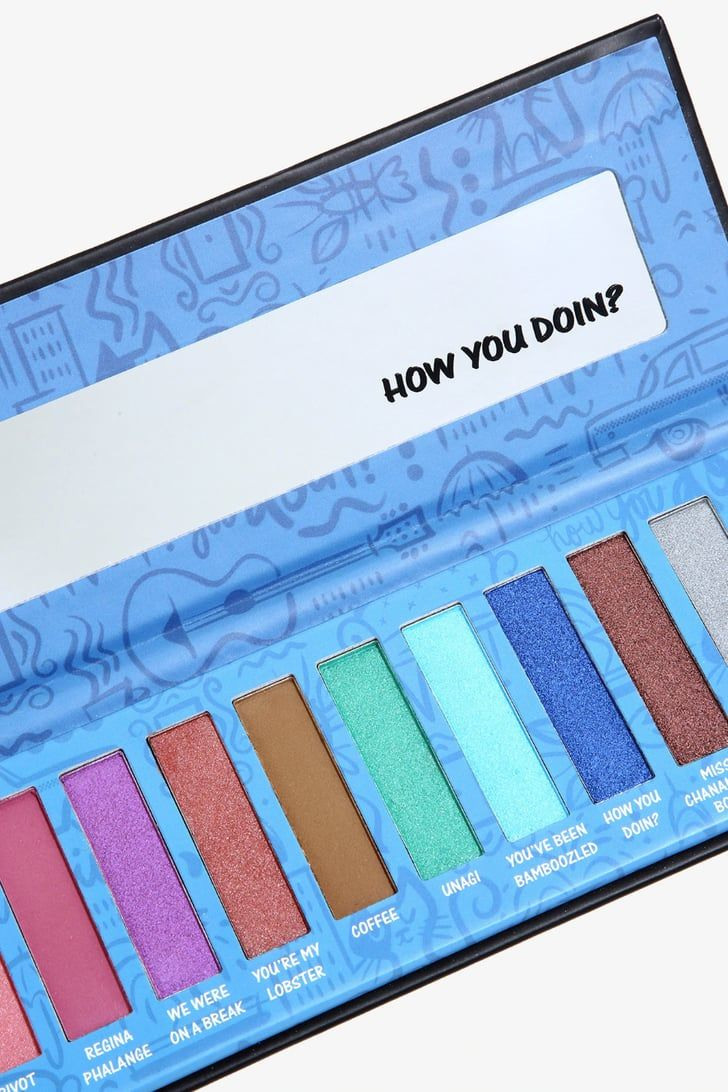 Hot Topic Has a Friends Eye Shadow Palette Rachel Couldn't