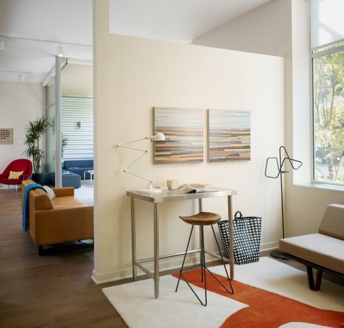 A Dozen Home Workspaces Spaces, Window and Office interiors