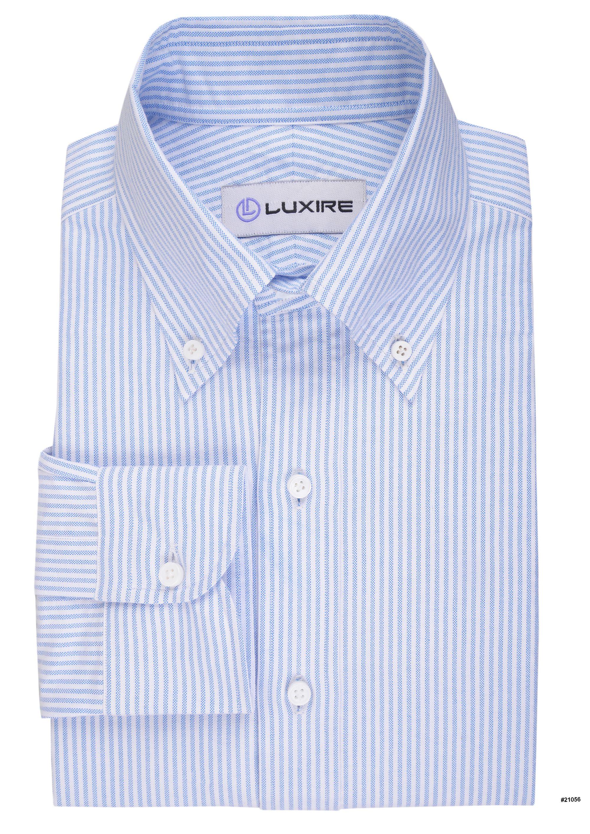 Light Blue University Stripes Oxford | Light blue, Oxfords and ...
