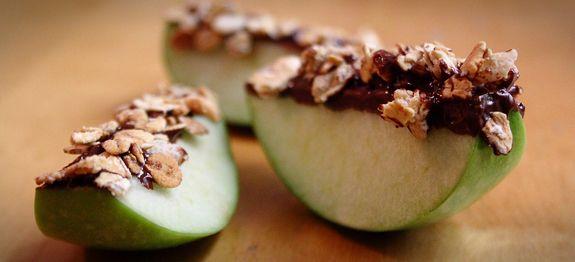 Apples + granola