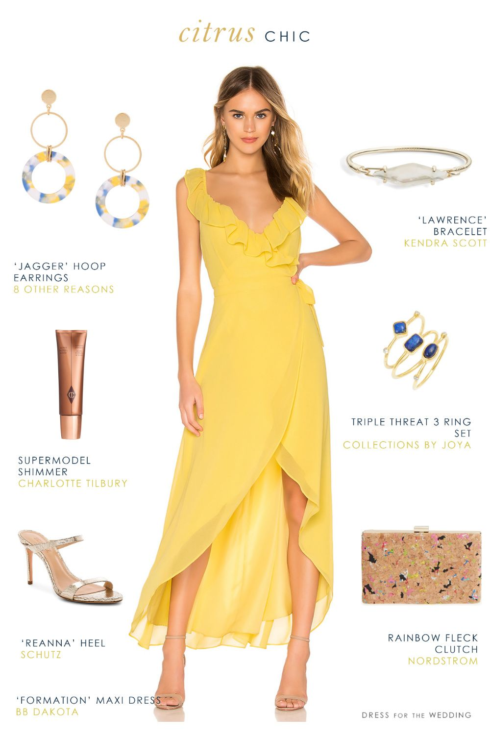 Pretty Yellow Maxi Dress And Accessories The Perfect Outfit For A Summer 2019 Wedding Gu Yellow Maxi Dress Yellow Wedding Guest Dresses Yellow Prom Dress Long [ 1502 x 1000 Pixel ]