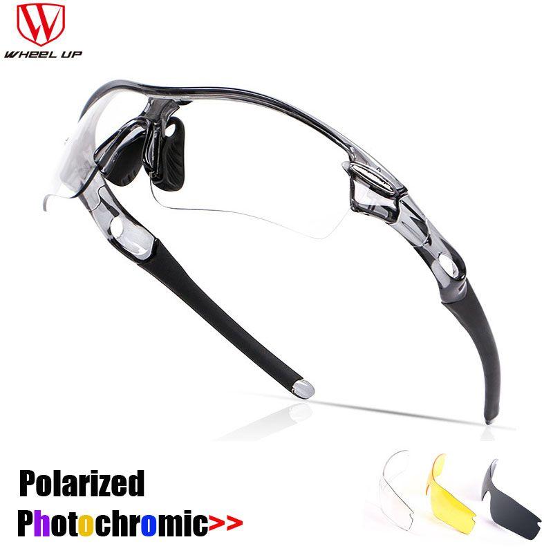 bed240e353 WHEEL UP New Photochromic Cycling Glasses Polarized Sunglasses Men Women  Sports MTB Mountain Road Bike Bicycle