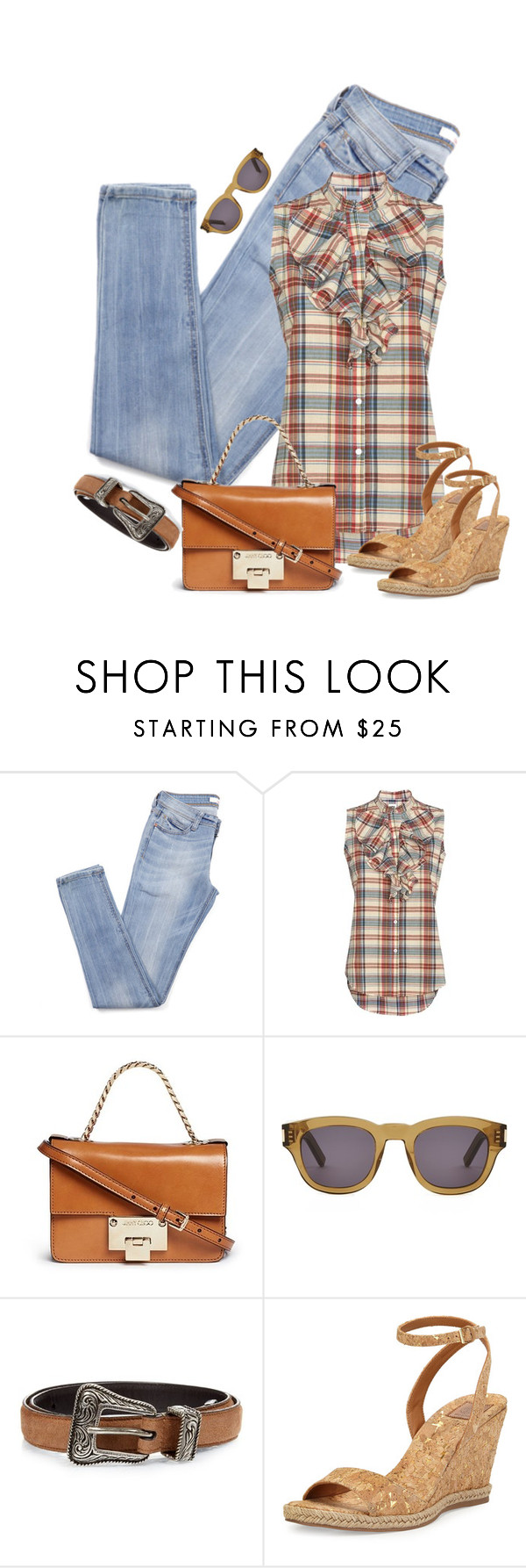 """""""She Does What She Wants to Do"""" by jacque-reid ❤ liked on Polyvore featuring NSF, Jimmy Choo, Yves Saint Laurent, Tory Burch, ToryBurch, jimmychoo, saintlaurent, NiemanMarcus and intermixonline"""