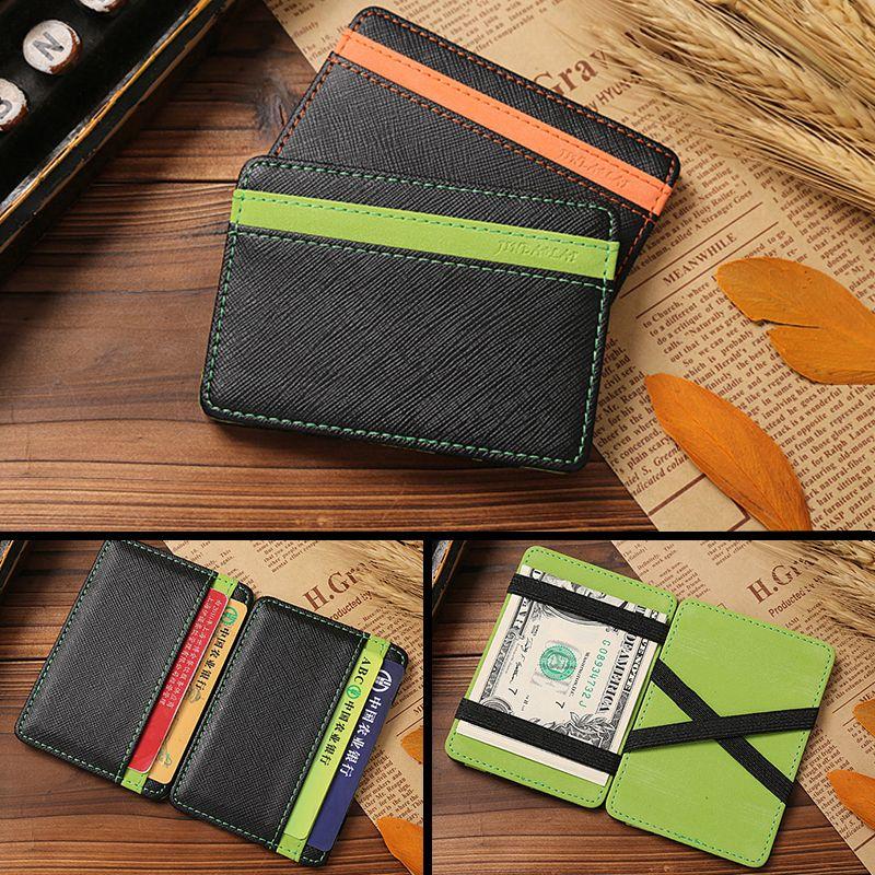 $2.76 (Buy here: https://alitems.com/g/1e8d114494ebda23ff8b16525dc3e8/?i=5&ulp=https%3A%2F%2Fwww.aliexpress.com%2Fitem%2F2016-men-women-wallet-PU-leather-Korea-magic-wallets-fashion-designer-purses-retail-and-wholesale-money%2F32657783509.html ) 2016 Hot Selling PU Leather Magic Wallets Men Fashion Design Male Purse Card Holer Slim Card Wallet Money Clip for just $2.76