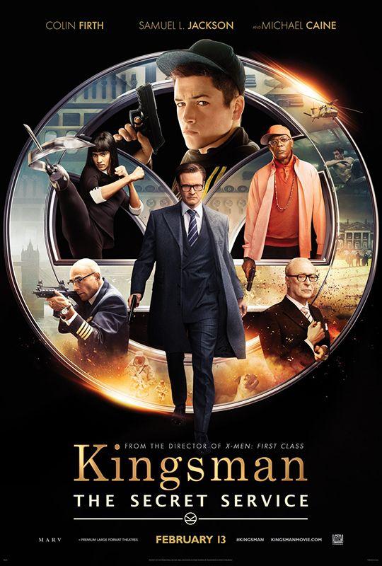 Kingsman Services Secrets Affiche Affiche Film Film Meilleurs Films