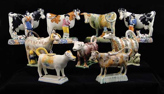 English Pottery Cows and Cow Creamers.xx tracy porter. poetic wanderlust. xx