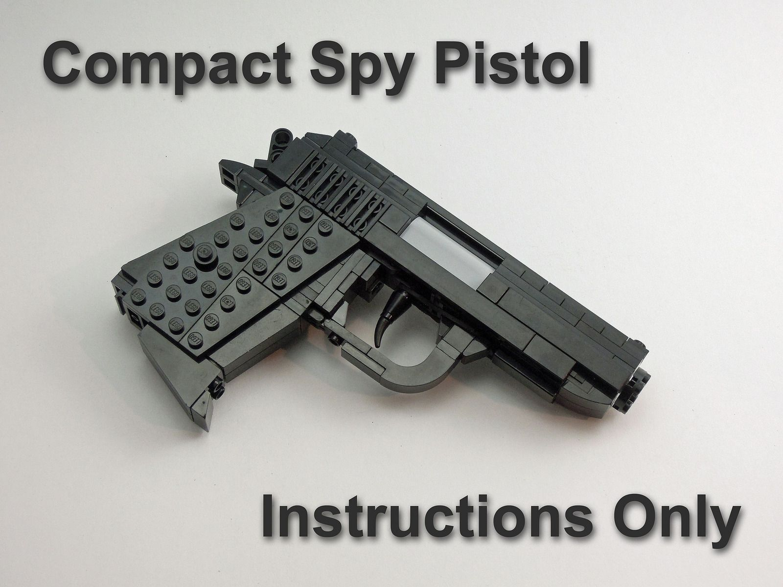 Walther PPK Instructions For Sale | LEGO WEAPONS  | Hand