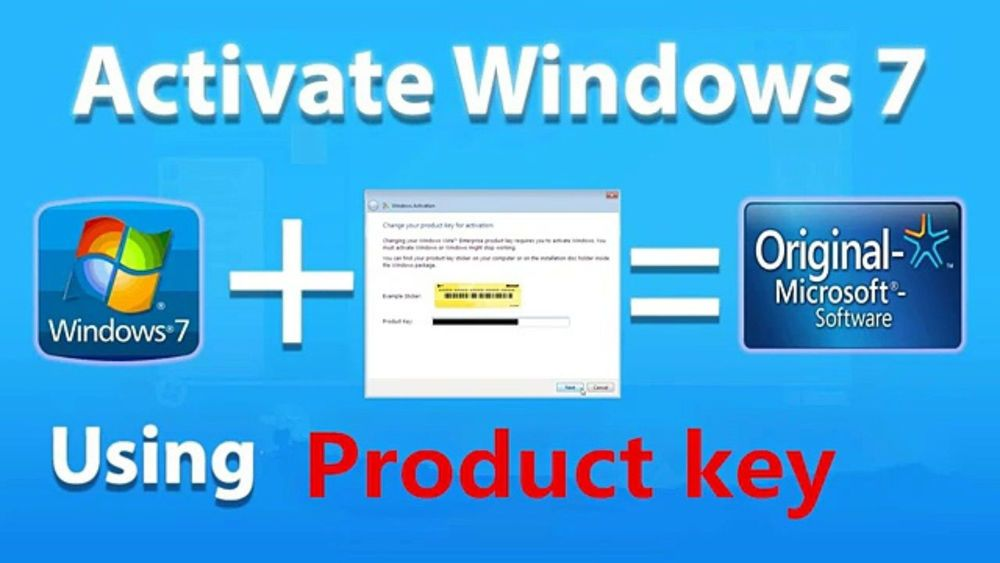 activation key for windows 7 software
