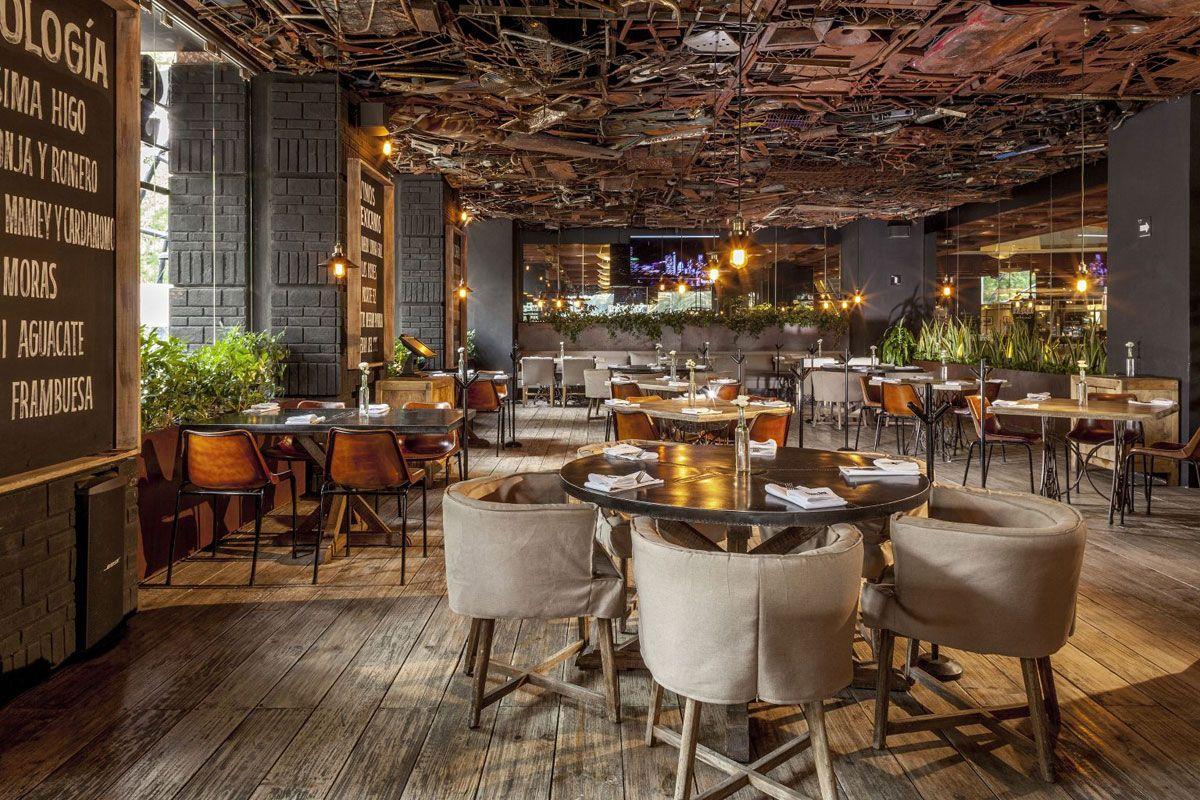 Restaurante sonora grill reforma pasquinel studio for Restaurante arquitectura