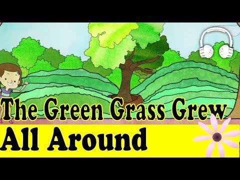 Green Grass Grows All Around Children's Song with Lyrics