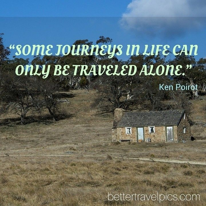Some journeys in life can only be traveled alone. Register NOW at http://ift.tt/1pe1GGR or click on the link in our bio for our FREE eBook on how to take better travel pics on your next holiday. Get your free eBook and cheat sheets today.  Photo by @johnlechnerart  #wanderlust #travelpics #travel