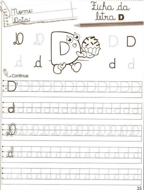 Iamgem 14 Atividades De Alfabetizacao Escrita Do Alfabeto E