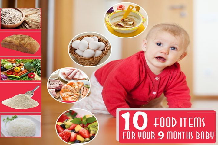 9 Month Baby Food: Top 10 Food Ideas And 4 Interesting ...