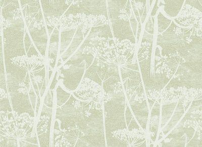 Behang Kleur Eucalyptus : Cole and son behang cow parsley icons cole and son behang cow