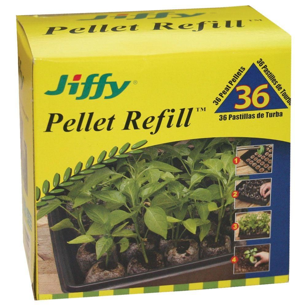 Jiffy Peat Pellet Refill (36Pack)5048 The Home Depot