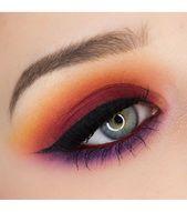 Photo of Sonnenuntergang Make-up, großer Sommertrend Sonnenuntergang Make-up mit Farben …
