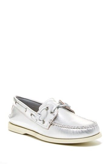 Sperry Top-Sider Authentic Original Metallic Boat Shoe by Sperry Top-Sider on @HauteLook