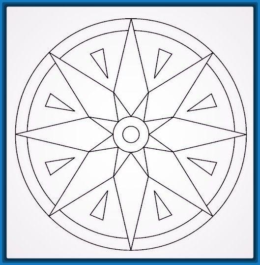Mandalas faciles de dibujar descarga las mejores mandalas faciles de dibujar para ni os - Mandala facile ...