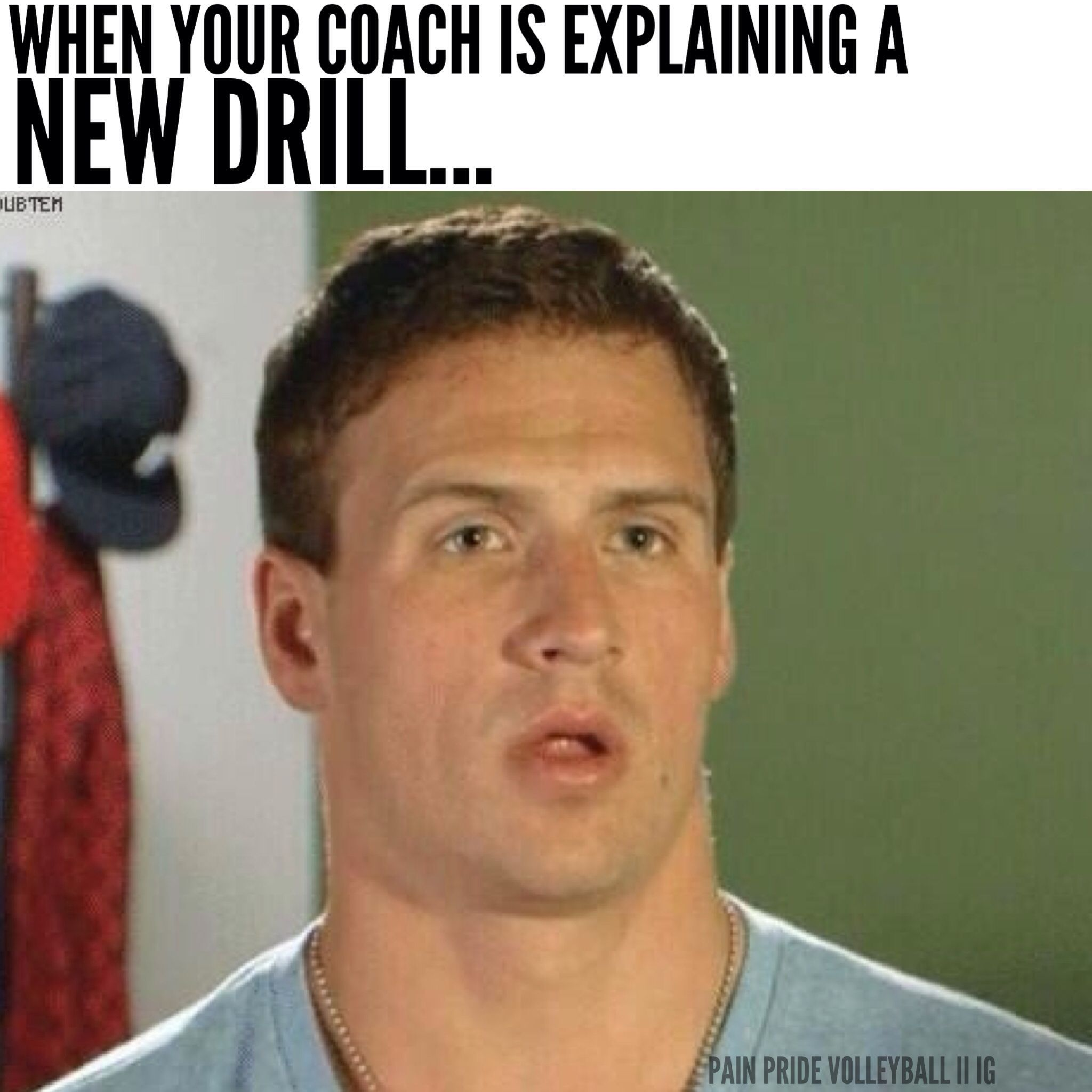 He Usually Has To Explain It A Few Times Volleyball Humor Volleyball Memes Soccer Funny