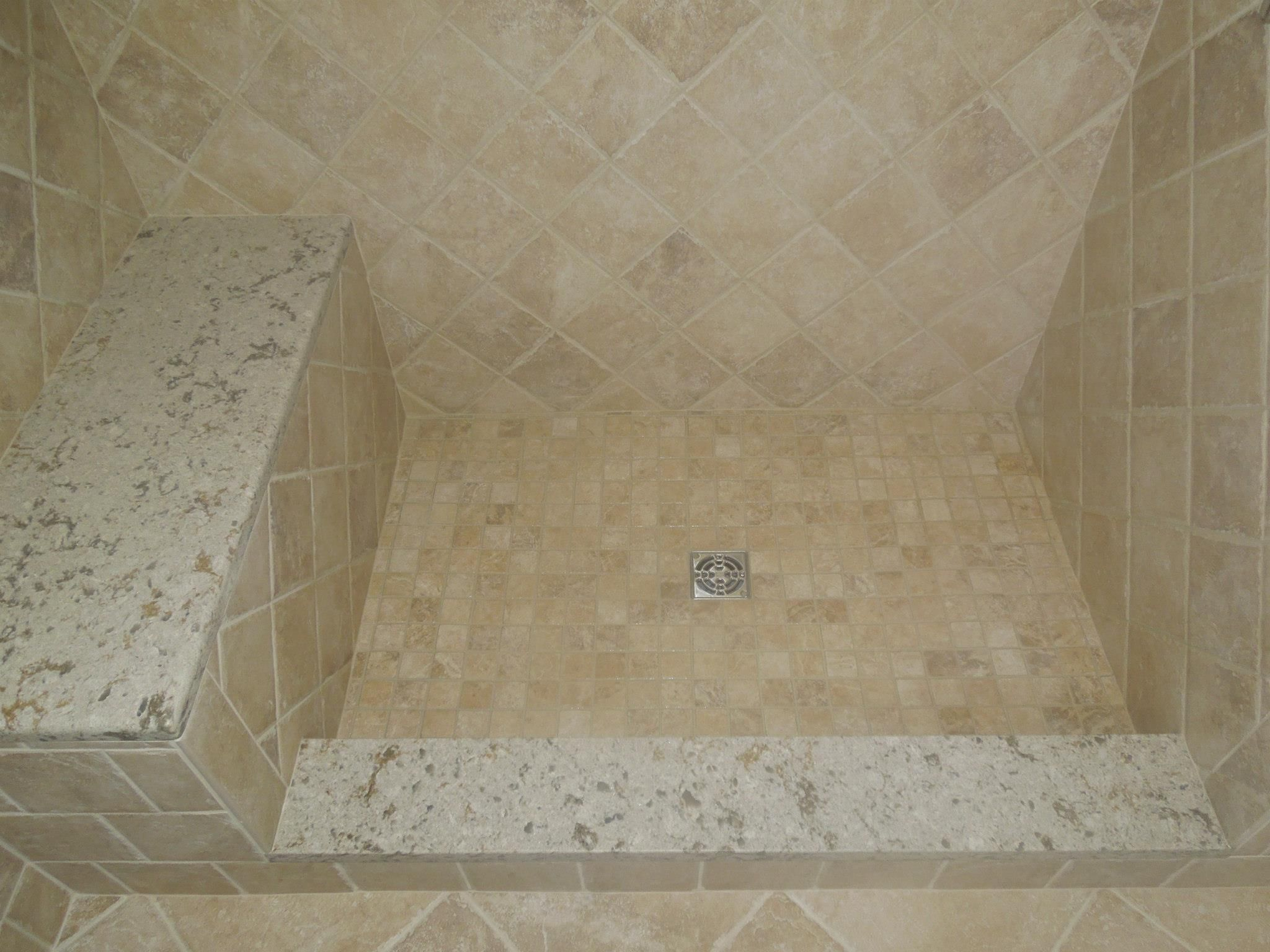 Cambria Windermere Bench Seat And Shower Curb Shower Curb Bathroom Shower Bathroom Renovation