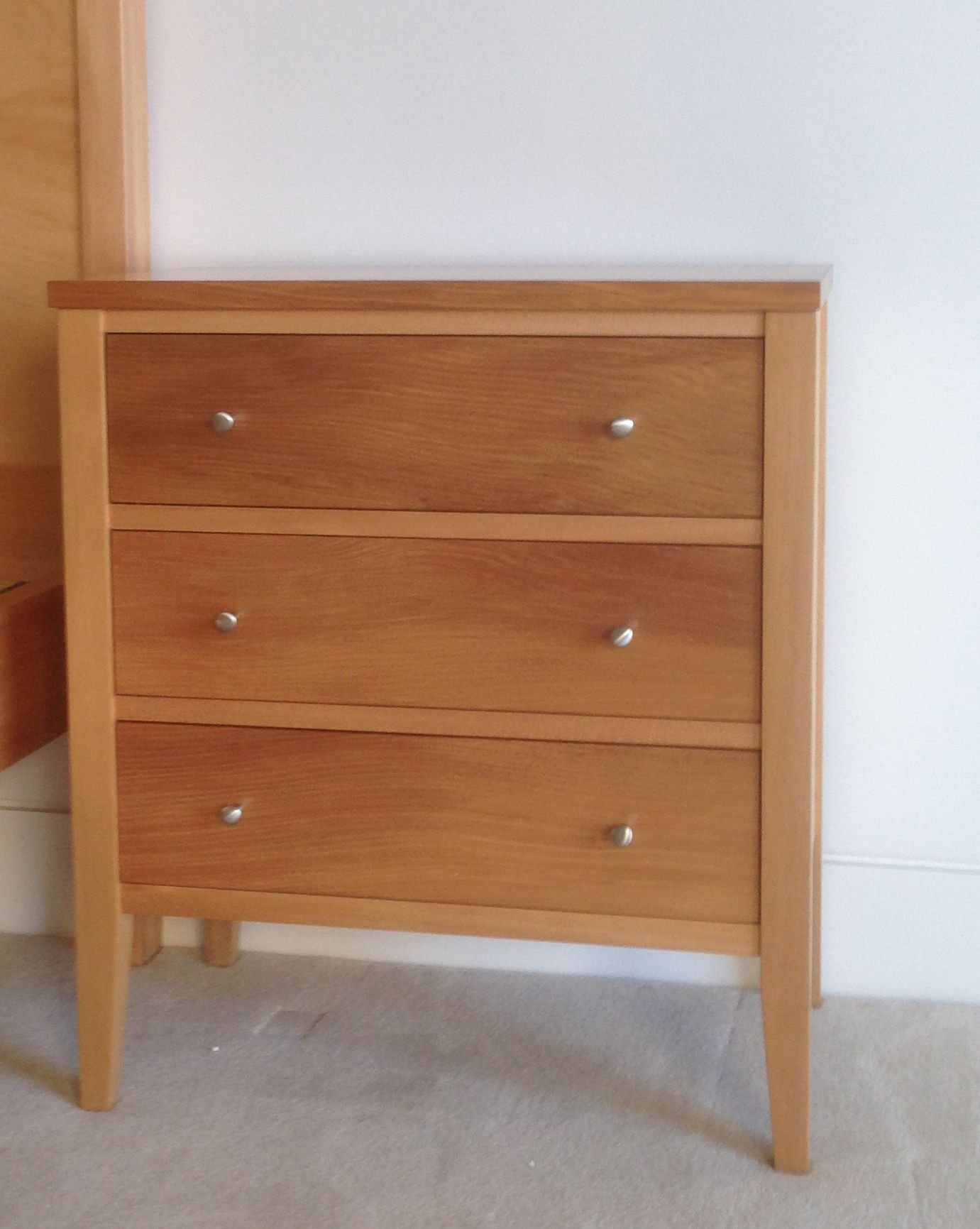 Newport Bedside In Nz Kauri By Rose And Heather Home Decor