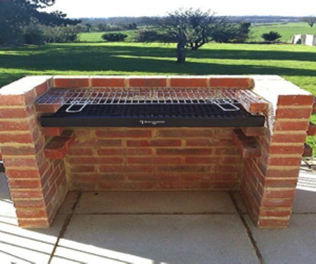 How To Build A Brick Bbq Brick Bbq Outdoor Kitchen Design