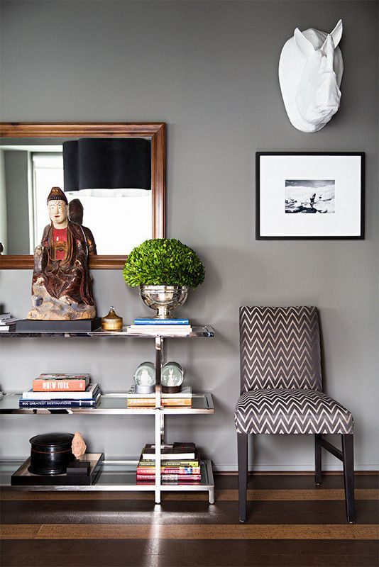 Your Guide to Picking the Perfect Paint Finish Gray painted walls