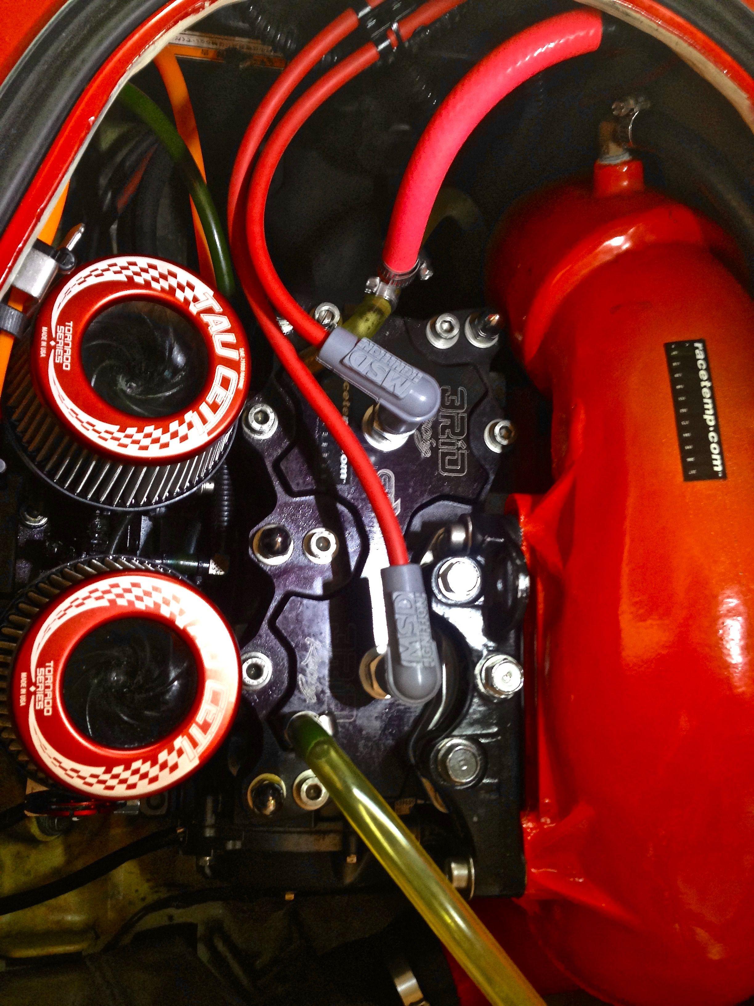Blaster 1 760 cc Riva exhaust pipe modified etc