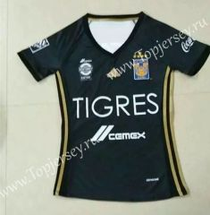 2017-18 Tigres UANL 2nd Away Black Female Thailand Soccer Jersey ... 918a7f98c