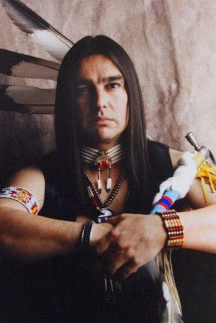 White Wolf : Native And Proud: 11 Native American Men Celebrities With Long Hair #nativeamericanindians