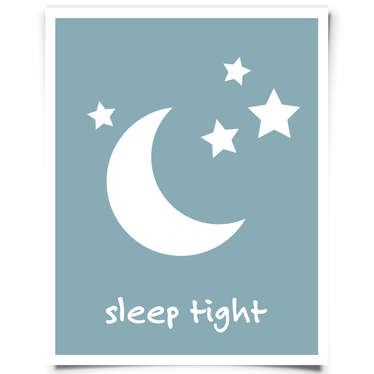 Moon Stars Free Printable Slate Blue Chickadee Art And Company Nursery Wall Art Printable Free Nursery Printables Nursery Wall Art Quotes