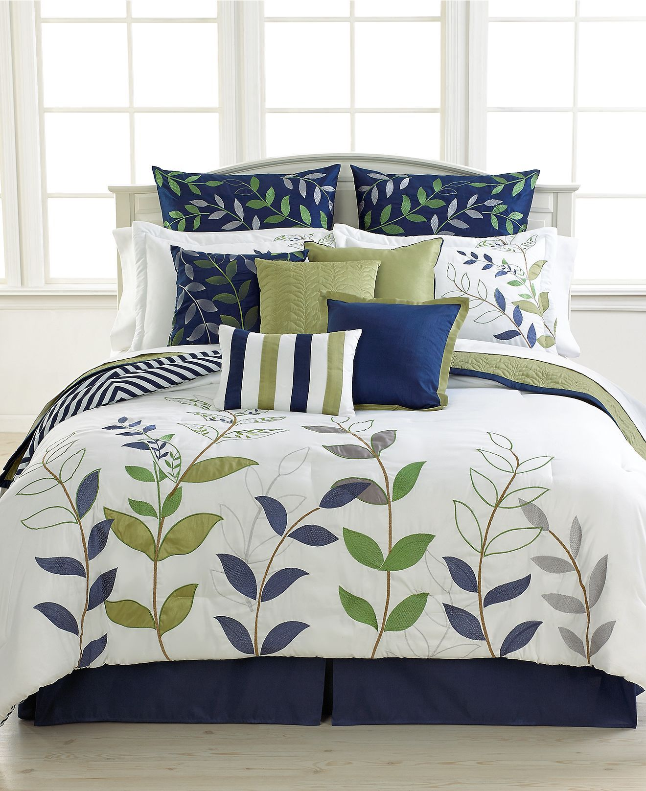 Darjeeling 12 Piece Queen Comforter Set Bed In A Bag Bed Bath Macy S Bedding Sets Comforter Sets King Comforter Sets 12 piece queen comforter set