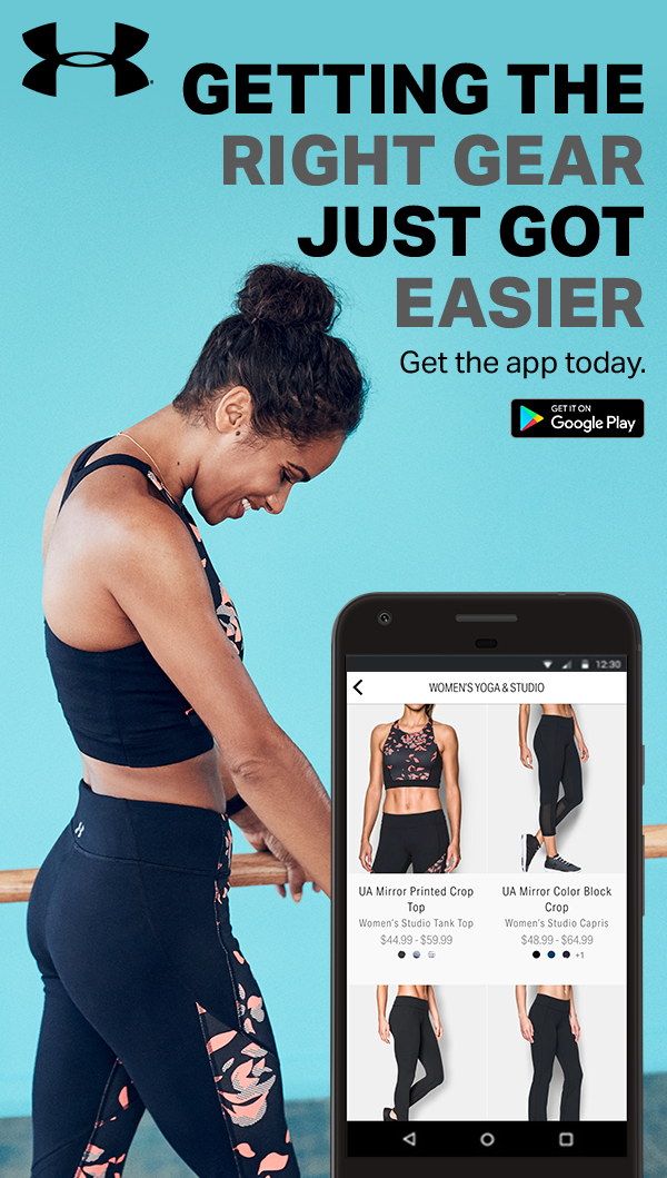 e8bae67bd6d Download to UA Shop app and shop looks that work as hard as you do—head to  to