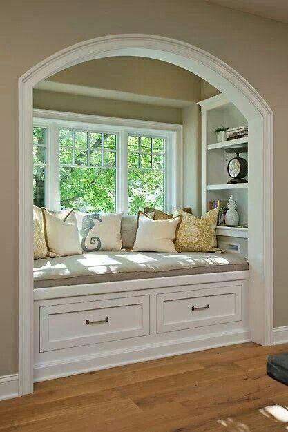 Reading Nook Sooooo Cute Home Home Decor Home N Decor