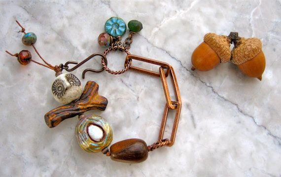 love within bracelet  . . . by marthasrubyacorn on Etsy, $49.00