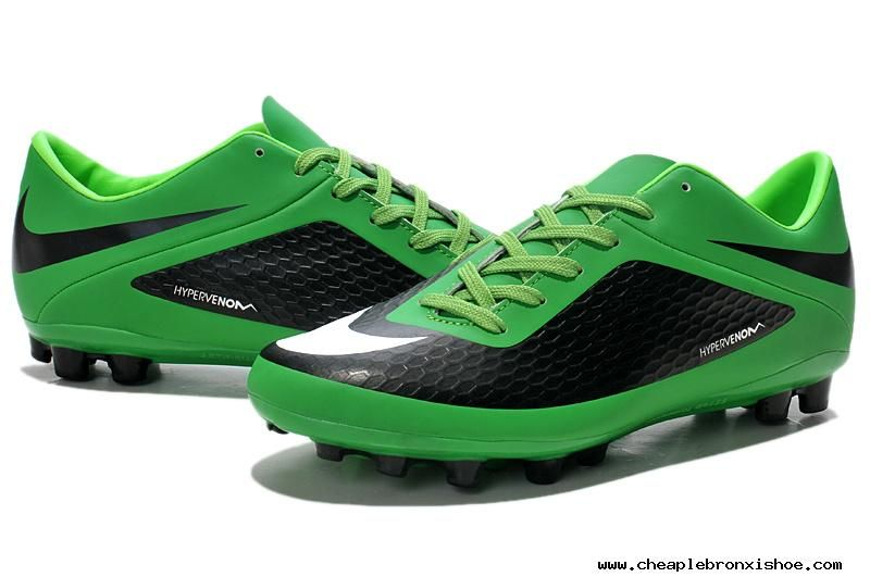 Nike Hypervenom Phelon Fg Firm Ground Football Boots Black Green White  Cheap � Nike Basketball ShoesFootball ...