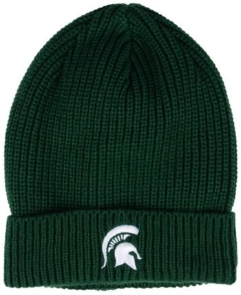 8c20c9454a7 Nike Michigan State Spartans Cuffed Knit Hat - Green Adjustable ...