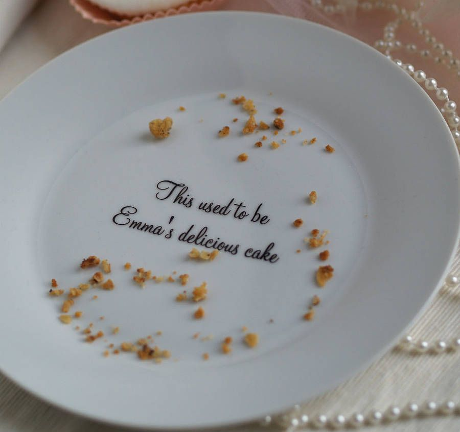 Item of the day Personalised cake plate & personalised \u0027delicious cake\u0027 plate by this is pretty ...