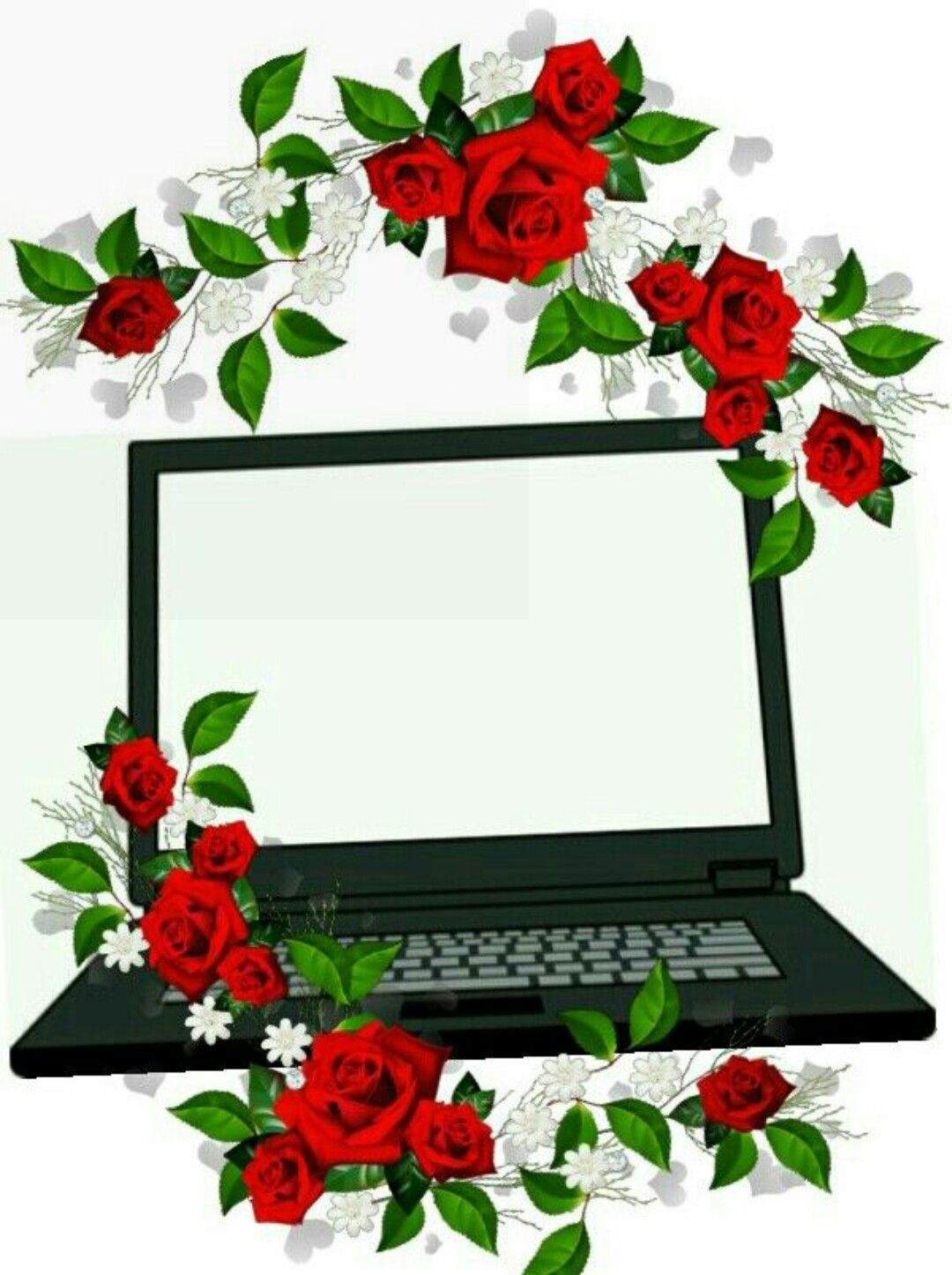 Pin Oleh هند Di Pc Seni Bunga Komputer